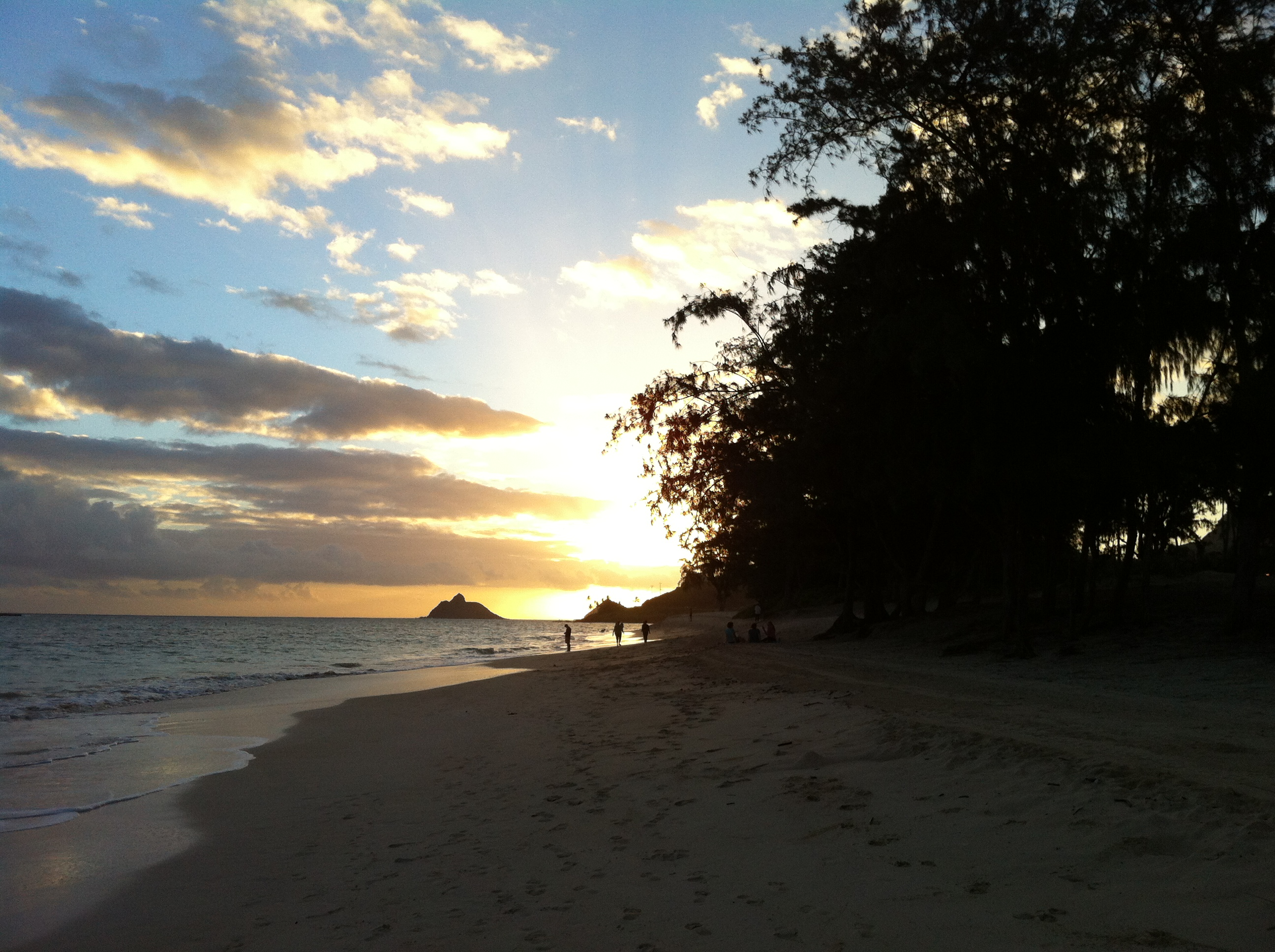 Sunday sunrise at Kailua beach