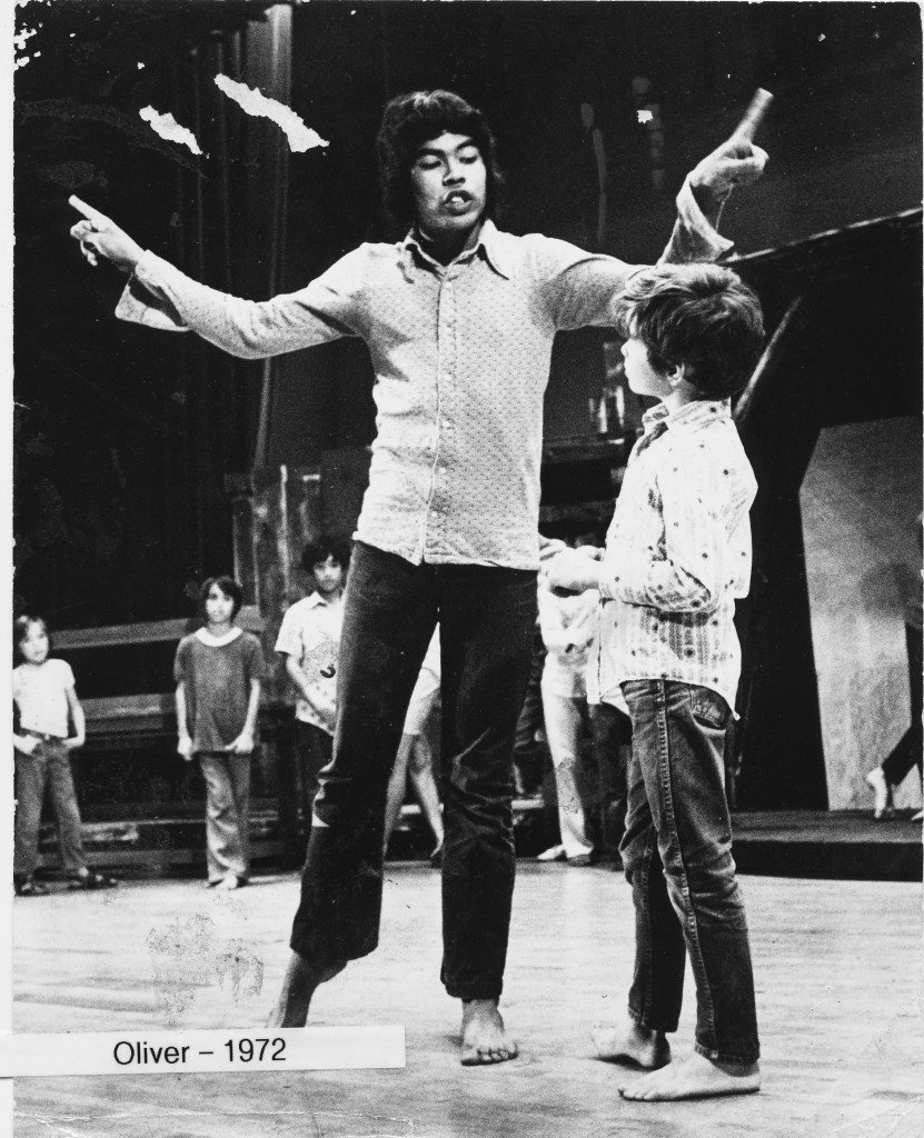 """Godspell JR"" Director William Ha'o back in the day."