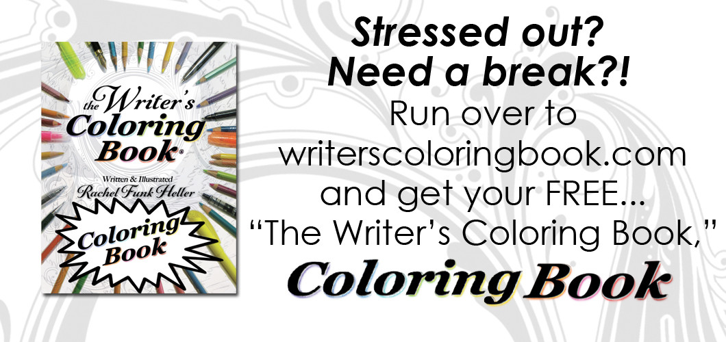 The Writers Coloring Book - Subscribe & Receive the FREE Coloring Book
